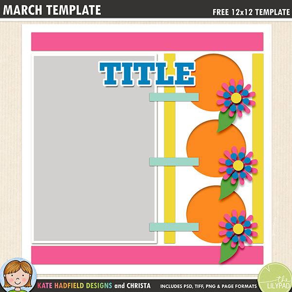 free scrapbook templates