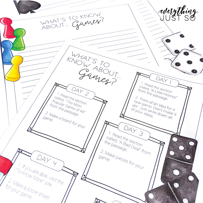 Summer Review activities by Everything Just So | illustrations by Kate Hadfield Designs