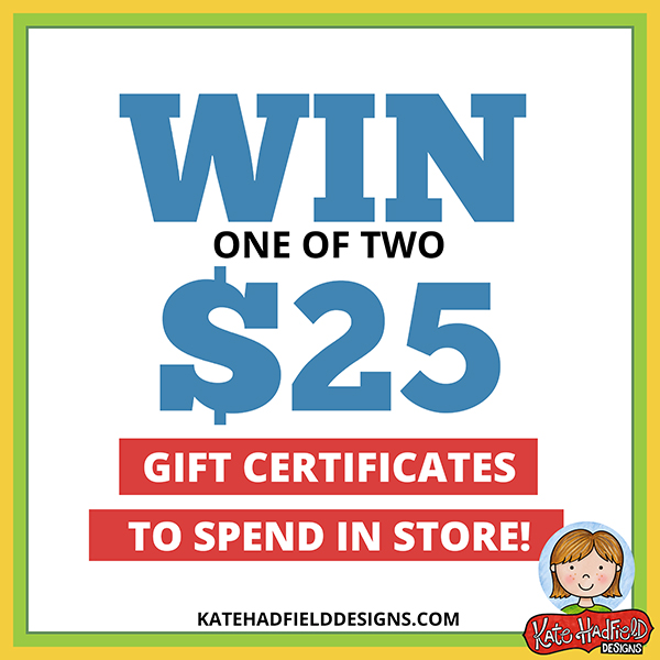 kate hadfield designs gift certificate giveaway
