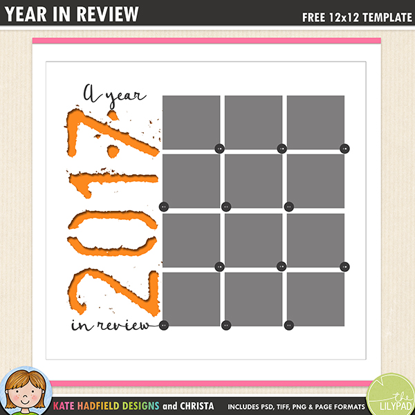 year in review free template