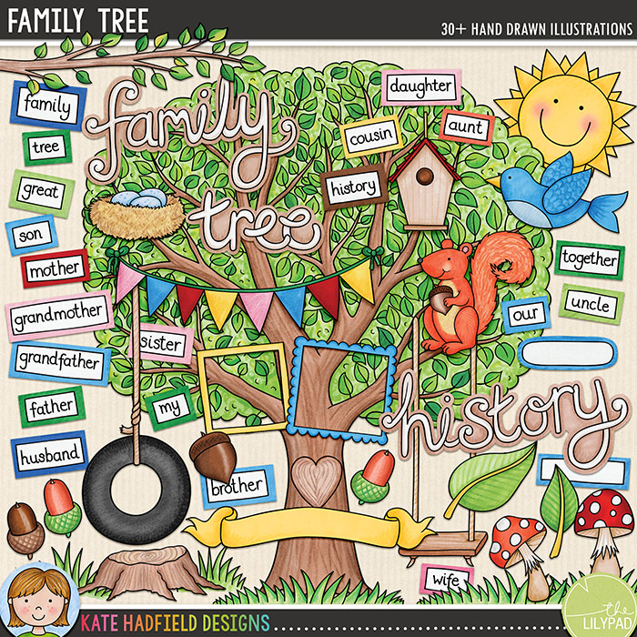 Family Tree Featured Kit Kate Hadfield Designs