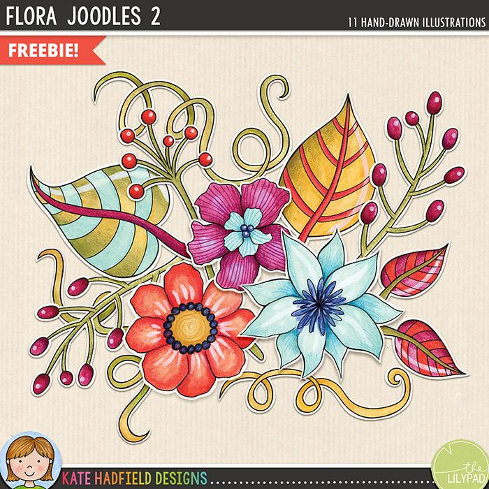 Digital Scrapbooking Day Blog Hop Kate Hadfield Designs