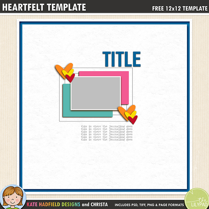 How to use Digital Scrapbook Templates (Photoshop and