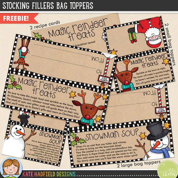 photograph about Snowman Soup Printable Tag named Do-it-yourself Xmas address bag toppers: Magic Reindeer Snacks and