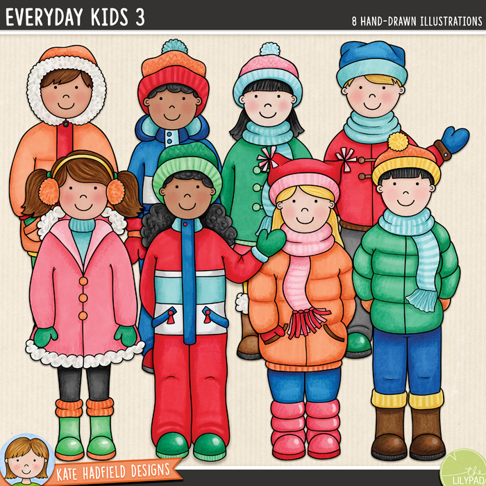 Everyday Kids 2 & 3 - Kate Hadfield Designs