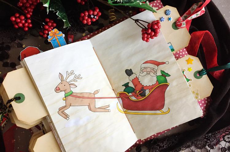 LARge CHRISTMAS JUNK JOURNAL
